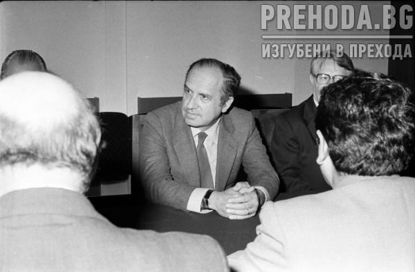 СОФИЯ-ЗАСЕДАНИЕ НА ФАУ-МИНИСТРИТЕ НА ЗЕМЕДЕЛИЕТО НА СССР И БЪЛГАРИЯ