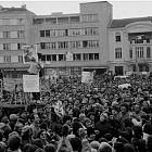 Казионен митинг в подкрепа на оставката на Тодор Живков
