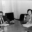 Заседание на прокурори. Ани Крулева и Иван Татарчев