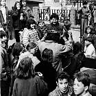 Протест на ученици от Музикалното училище