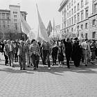 Протест против правителството Беров