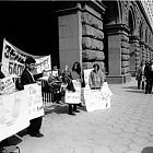 """Протест на фондация """"Зелени Балкани"""""""