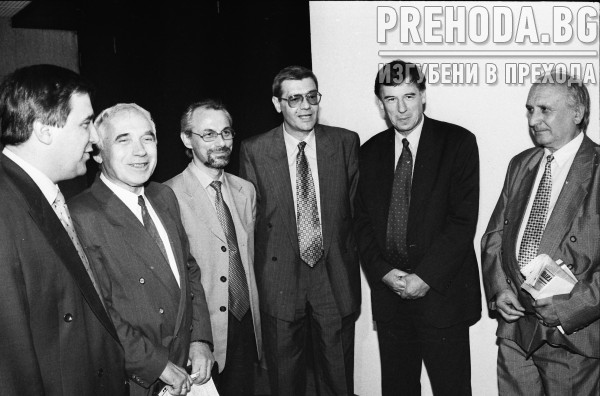 Среща на либерали. Ахмед Доган и Жельо Желев