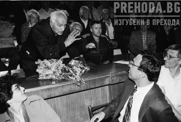 Петър Стоянов на среща с граждани в Кюстендил
