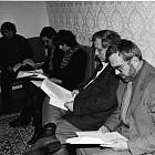 Президентът Желев се среща с интелектуалци