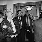 Лидери на СДС се срещат с лидери на Народен съюз..