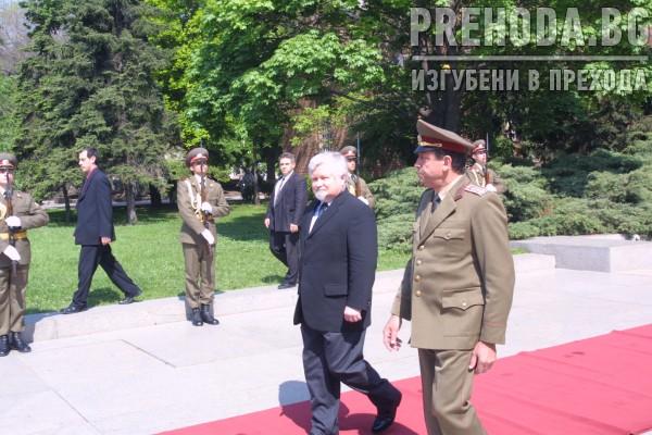 Председателят на Чешкия парламент - посещение