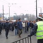 Протест на таксиметровите компании и шофьори пред НС