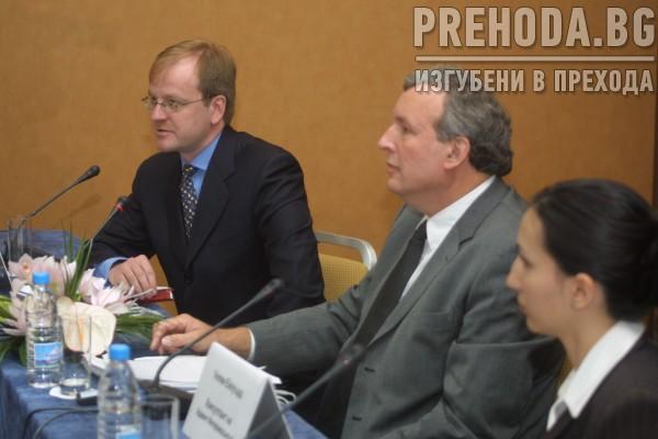 Ддвент интернеишълън - купувачи на БТК - кристиян мрук и уилям ббаурд-пресконференция
