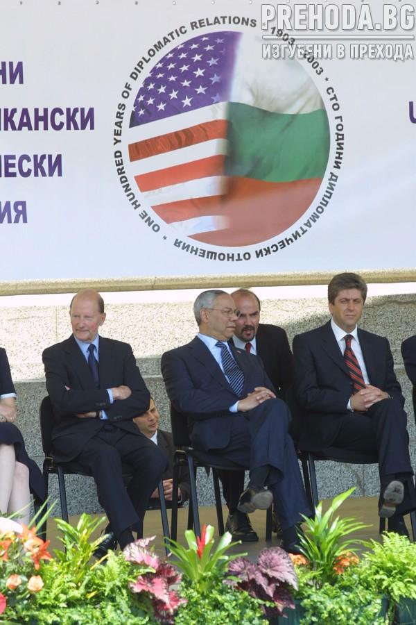 Колин Паулър-държавен секретар на САЩ- посещение
