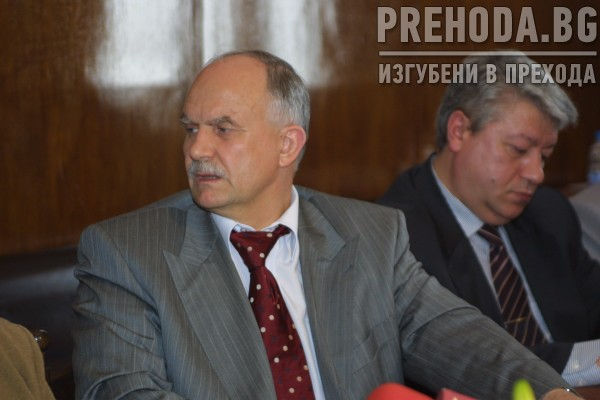 Италиански прокурор-борец срещу италианската мафия среща с Филчев 2004.7