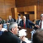 Бойко Борисов и Филчев - среща на митниците 2004.10