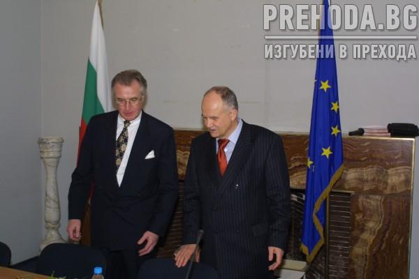 Бойко Борисов, Филев и гемрански прокурор - среща 2004.3