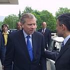 Външно министерство- среща на Соломон Паси и шефът на НАТО  2004.5