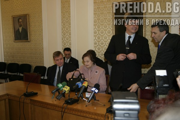 НС - ЛИДЕРИ НА ЗЕМЕДЕЛЦИТЕ, ВМРО И ССД ПОДПИСВАТ САЮЗ ЗА ИЗБОРИТЕ