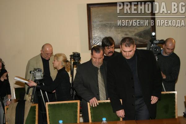 МИНИСТЪР ВАСИЛЕВ ПРЕГОВАРЯ С ПРЕДСТАВИТЕЛИ НА ПРЕВОЗВАЧИТЕ 1.2005