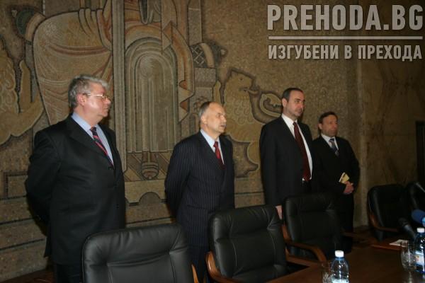 НОВОИЗБРАНИЯТ ПРОКУРОР Б. ВЕЛЧЕВ - КЛЕТВА 23.